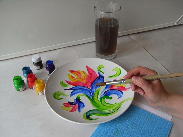 Краски для рисования своими руками 13