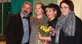 В Городском культурном центре показали спектакль по мотивам новеллы Ги де Мопассана «Наследство»