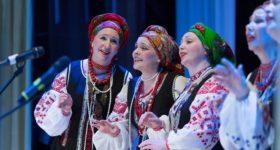 Невероятную весеннюю программу подарил зрителям Народный самодеятельный коллектив вокальный ансамбль «Купава»